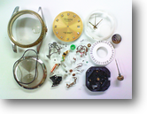 TomoraVX42Eクォーツ腕時計 分解掃除(オーバーホール)
