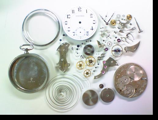 15.ユリスナルダン150720手巻提時計分解掃除(オーバーホール)