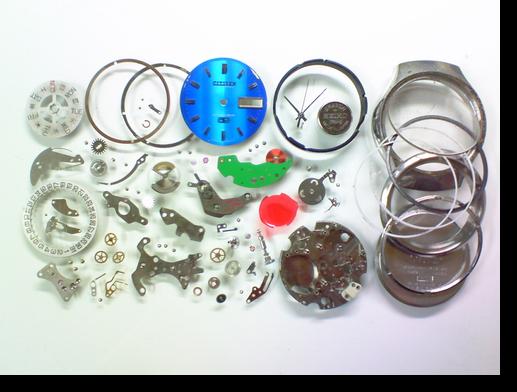 13.シチズンコスモトロン7802A電子腕時計分解掃除(オーバーホール)