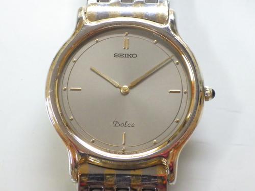 クォーツ式腕時計修理---セイコードルチェ9530Aクォーツ腕時計【times-machine.com】《 時計修理 》【三田時計メガネ店@栃木県大田原市前田】