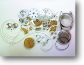 セカンドメイク・ロレックスETA2834-2自動巻腕時計分解掃除(オーバーホール)