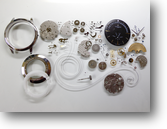 セカンドメイク・バセロンコンスタンチン自動巻腕時計分解掃除(オーバーホール)