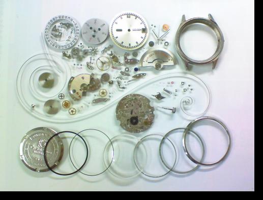 62.シチズンクリスタルセブン5204G自動巻腕時計分解掃除(オーバーホール)