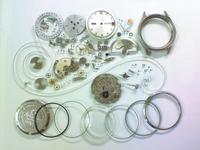 機械式腕時計修理---シチズンクリスタルセブン5204G自動巻腕時計 分解掃除(オーバーホール)【times-machine.com】《 時計修理 》【三田時計メガネ店@栃木県大田原市前田】