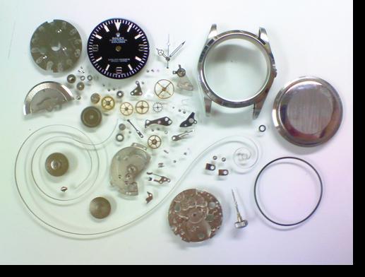 64.セカンドメイク・ロレックス自動巻腕時計分解掃除(オーバーホール)
