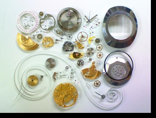 65.ラドーダイアスターAS1858自動巻腕時計分解掃除(オーバーホール)