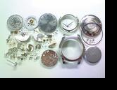 オメガデビルコーアクシャルクロノメーターGMTΩ2628B自動巻腕時計分解掃除(オーバーホール)