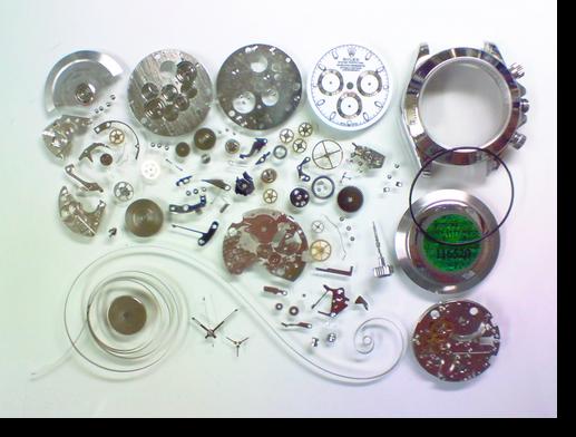 67.セカンドメイク・ロレックス自動巻腕時計分解掃除(オーバーホール)