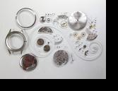 セイコーゴールドフェザー27手巻腕時計分解掃除(オーバーホール)