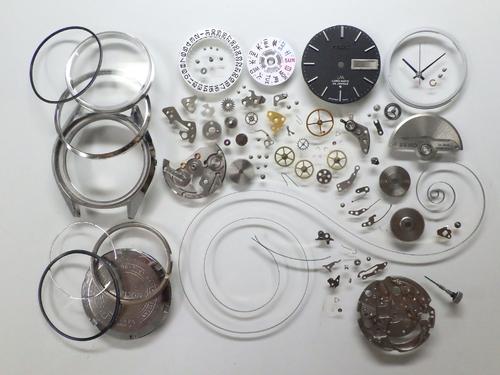 機械式腕時計修理---セイコーロードマチック5606A自動巻腕時計 分解掃除(オーバーホール)【times-machine.com】《 時計修理 》【三田時計メガネ店@栃木県大田原市前田】