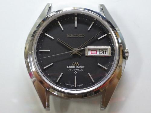機械式腕時計修理---セイコーロードマチック5606A自動巻腕時計【times-machine.com】《 時計修理 》【三田時計メガネ店@栃木県大田原市前田】