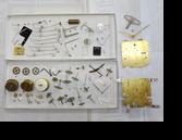 セイコースリーチャイム8日巻カギ巻置時計分解掃除(オーバーホール)