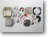 セイコー7832Aクォーツ腕時計分解掃除(オーバーホール)