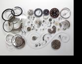 セイコー5スポーツスピードタイマー7017A自動巻腕時計分解掃除(オーバーホール)