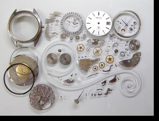 46.グランドセイコー4522A手巻腕時計分解掃除(オーバーホール)