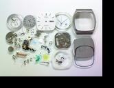 セイコークロノス7433Aクォーツ腕時計分解掃除(オーバーホール)