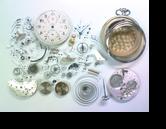 セイコーカラフ(19セイコークロノグラフ付き)手巻提げ時計分解掃除(オーバーホール)