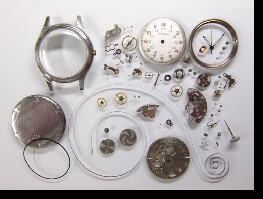 48.ロンジン23M手巻腕時計分解掃除(オーバーホール)