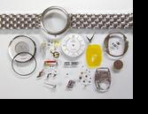 オメガデビルΩ1471クォーツ腕時計分解掃除(オーバーホール)