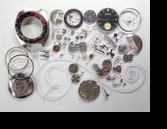 セイコー5スポーツスピードタイマー6139B自動巻腕時計分解掃除(オーバーホール)