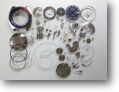 セイコークロノグラフ6139B自動巻腕時計分解掃除(オーバーホール)