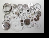 セイコークロノグラフ7018A自動巻腕時計分解掃除(オーバーホール)