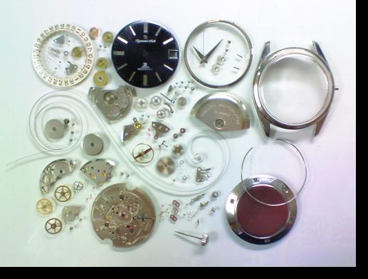 70.リコーダイナミックオート自動巻腕時計分解掃除(オーバーホール)