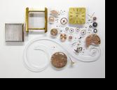 オメガデビルΩ625手巻腕時計分解掃除(オーバーホール)