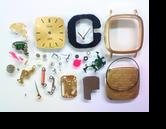 シチズンエクシードゴールド0330Gクォーツ腕時計分解掃除(オーバーホール)