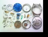 セイコー0822Aクォーツ腕時計分解掃除(オーバーホール)