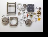ラドーダイアスターESA935112クォーツ腕時計分解掃除(オーバーホール)