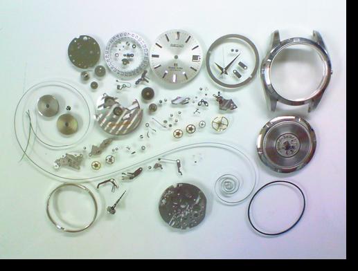 73.グランドセイコー9S55A自動巻腕時計分解掃除(オーバーホール)