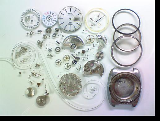74.キングセイコー5625A自動巻腕時計分解掃除(オーバーホール)