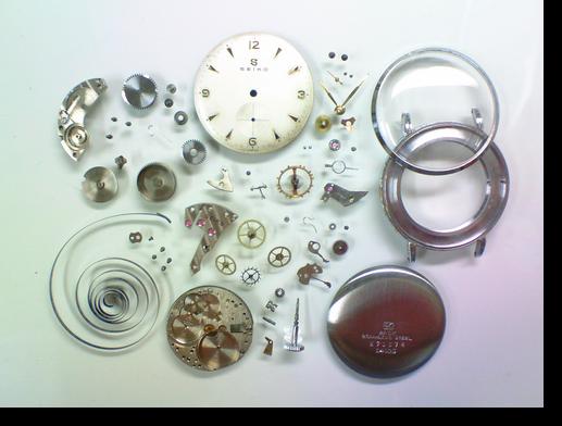 24.セイコー手巻腕時計分解掃除(オーバーホール)