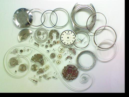 72.セイコーワールドタイム6117B自動巻腕時計分解掃除(オーバーホール)