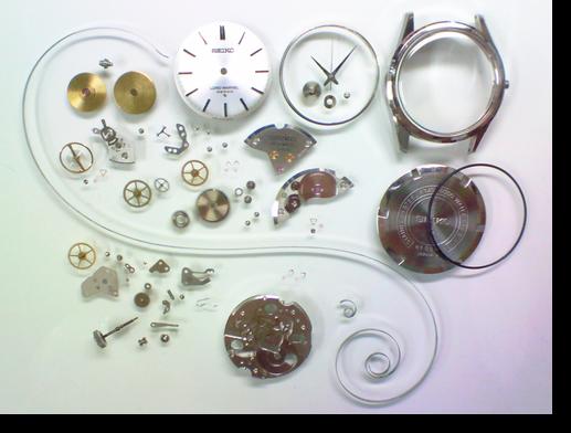 23.セイコーロードマーベル5740C手巻腕時計分解掃除(オーバーホール)