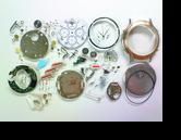 グッチクロノグラフRONDA763クォーツ腕時計分解掃除(オーバーホール)
