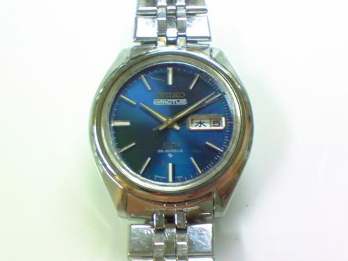 機械式腕時計修理---セイコー6106C自動巻腕時計ファイブアクタス 分解掃除(オーバーホール)【times-machine.com】《 時計修理 》【三田時計メガネ店@栃木県大田原市前田】