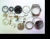 セイコーシルバーウェーブ5933Aクォーツ腕時計分解掃除(オーバーホール)