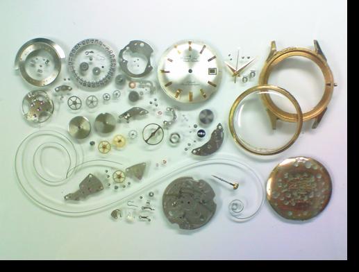 78.シチズンジェットオートデーター1121J自動巻腕時計分解掃除(オーバーホール)