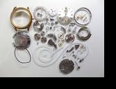 シチズンオートデーター4102D自動巻腕時計分解掃除(オーバーホール)
