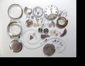 シチズンオートデータールーキーI自動巻腕時計分解掃除(オーバーホール)