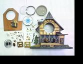 東京時計オルゴール付き手巻置時計分解掃除(オーバーホール)