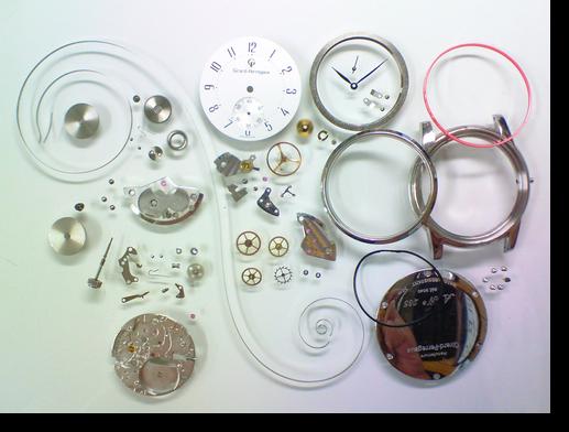 26.ジラールペルゴ2300-419手巻腕時計分解掃除(オーバーホール)