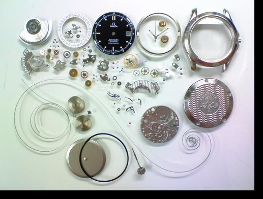 82.オメガシーマスターΩ1109自動巻腕時計分解掃除(オーバーホール)