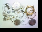 オリエントジュピター手巻腕時計分解掃除(オーバーホール)