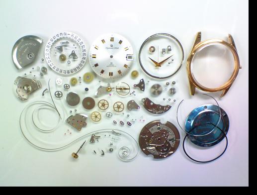 83.リコーダイナミックオート自動巻腕時計分解掃除(オーバーホール)