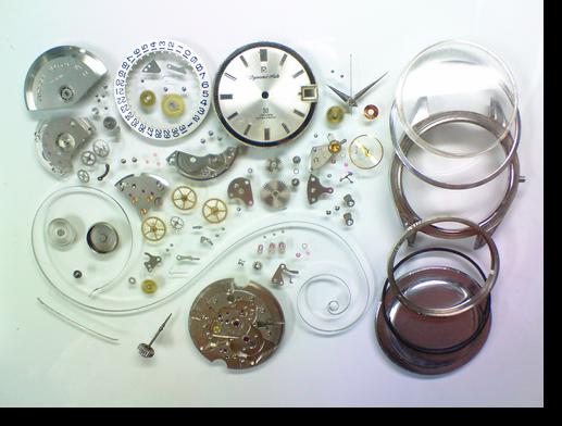 84.リコーダイナミックオート自動巻腕時計分解掃除(オーバーホール)