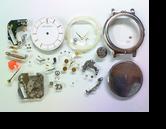 シチズンYSLイヴサンローラン2823Aクォーツ腕時計分解掃除(オーバーホール)