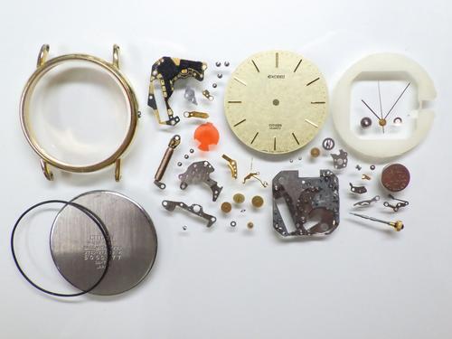 クォーツ式腕時計修理---シチズンエクシード2730クォーツ腕時計 分解掃除(オーバーホール)【times-machine.com】《 時計修理 》【三田時計メガネ店@栃木県大田原市前田】